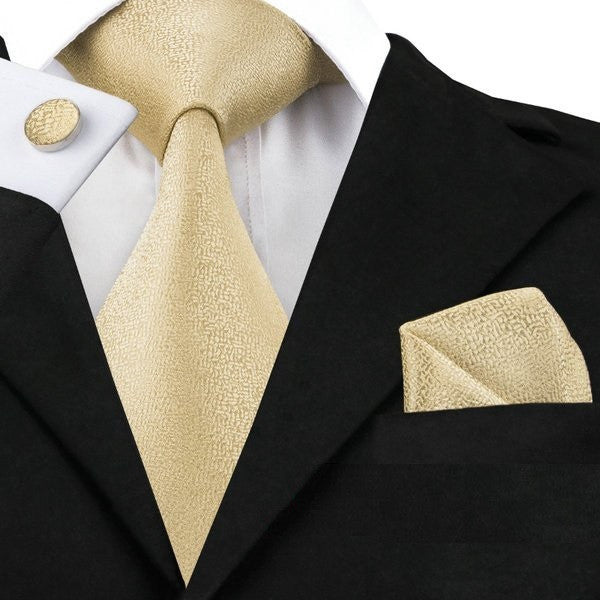 Gold Finish: 3pc Set - Uptown Ties