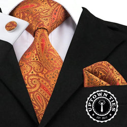 Orange Appeal: 3pc - Uptown Ties