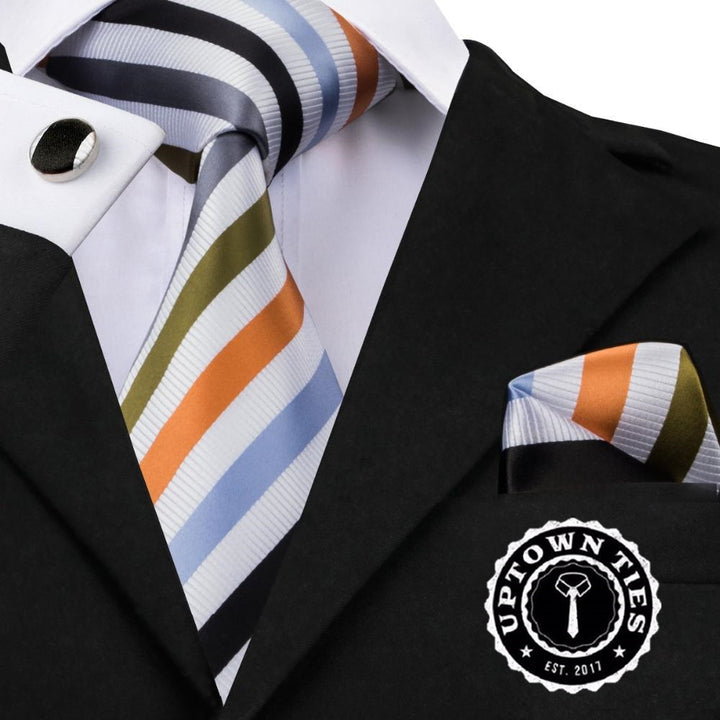 Stripe Success: 3pc Set - Uptown Ties