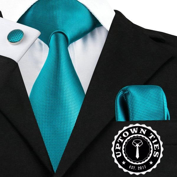 Solid Teal - Uptown Ties