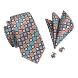 The Knoxville - w/ Pocket Square & Cufflinks - Uptown Ties