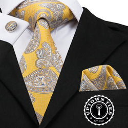 Sunrise Paisley: 3pc Set - Uptown Ties