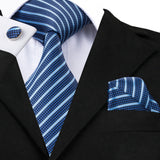 Steel Blue: 3pc Set - Uptown Ties