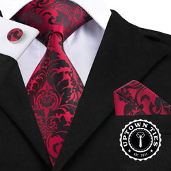 Red Garden: 3pc Set - Uptown Ties