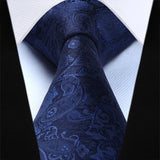 All Blue Paisley: 2pc Set - Uptown Ties