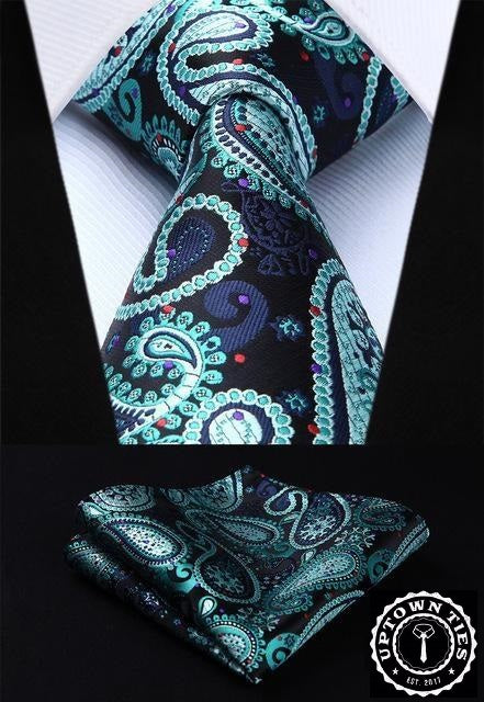 Perfection Paisley: 2pc Set - Uptown Ties