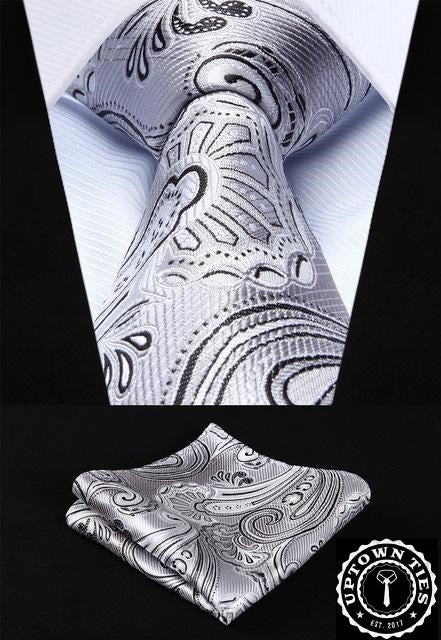 Silver Fox: 2pc Set - Uptown Ties