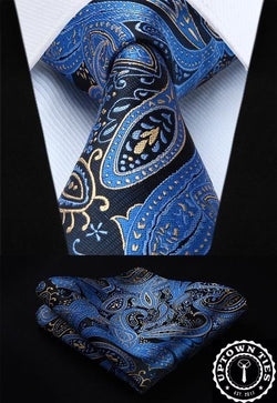 Refined Paisley: 2pc Set - Uptown Ties