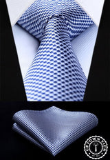 Navy Blue Houndstooth: 2pc - Uptown Ties