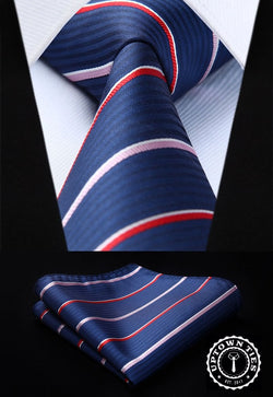 Patriot Stripe: 2pc Set - Uptown Ties