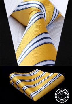 Goal Line Yellow: 2pc Set - Uptown Ties