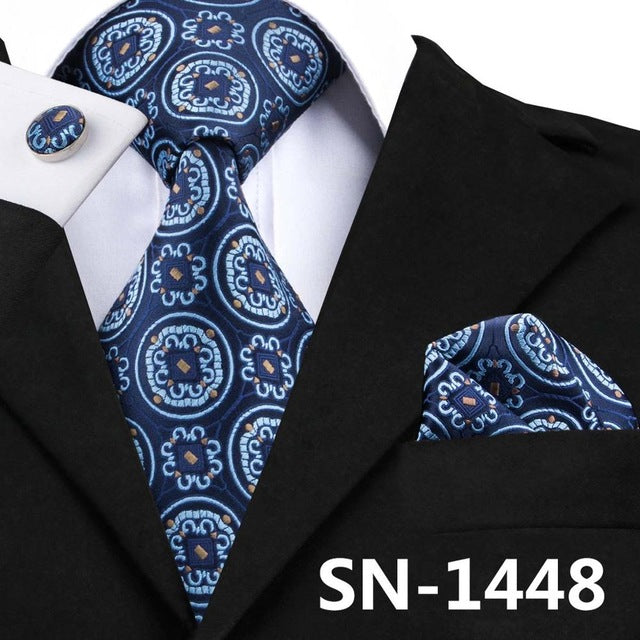 Blue Medallion: 3pc - Uptown Ties