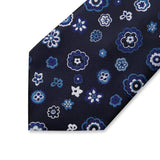 Classic Blue Floral: 2pc Set - Uptown Ties