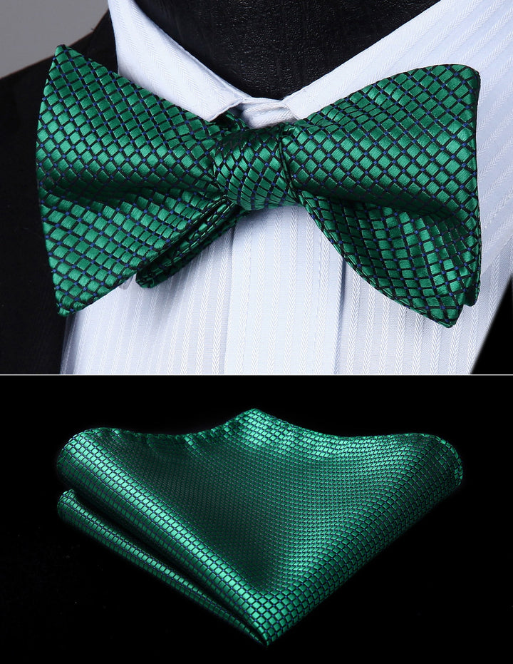 Emerald Squares: 2pc - Uptown Ties