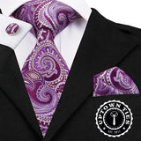 Lavender Paisley: 3pc Set - Uptown Ties