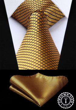 Fashion Gold: 2pc Set - Uptown Ties