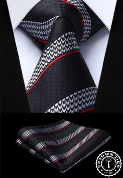 Red Line: 2pc Set - Uptown Ties