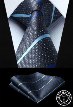 Refined Carbon: 2pc Set - Uptown Ties