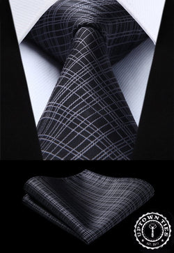 Sharp Fine Lines: 2pc Set - Uptown Ties