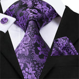 Purple Floral: 3pc