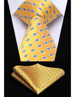 The Dynasty (XL) - w/ Pocket Square - Uptown Ties