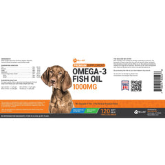 Omega 3 Fish Oil Soft Gels 1000mg