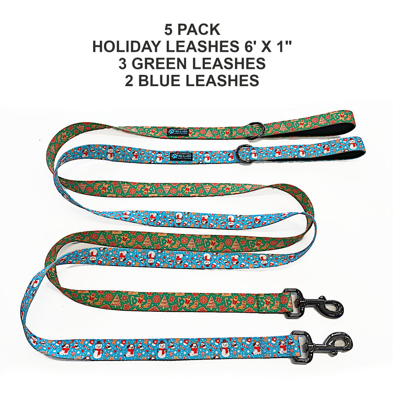 2019 Holiday Leashes