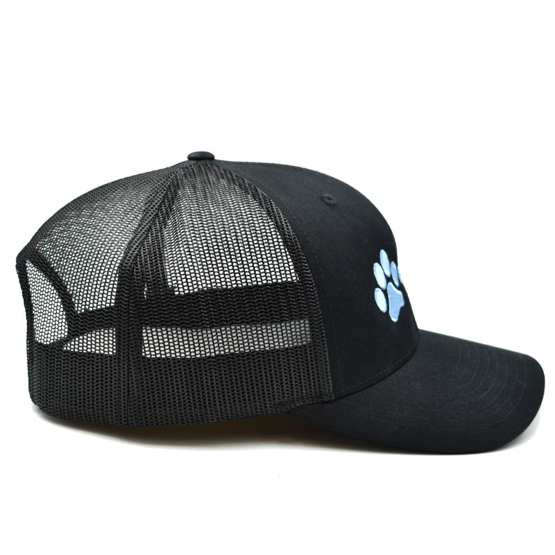 Max and Neo Black on Black Trucker Baseball Cap