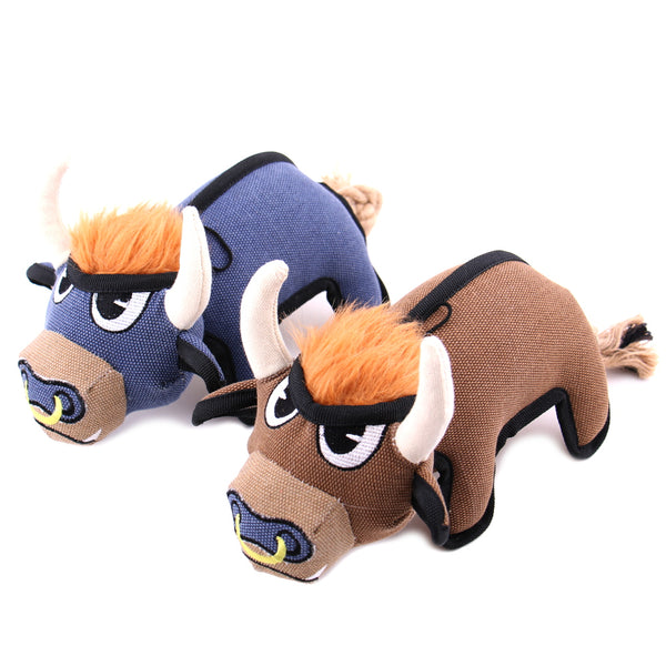 Benny and Bruno the Bull Dog Toys