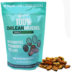 Freeze Dried Chilean Blue Sea Mussel Dog Treats