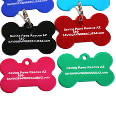 Custom Rescue Dog Tags