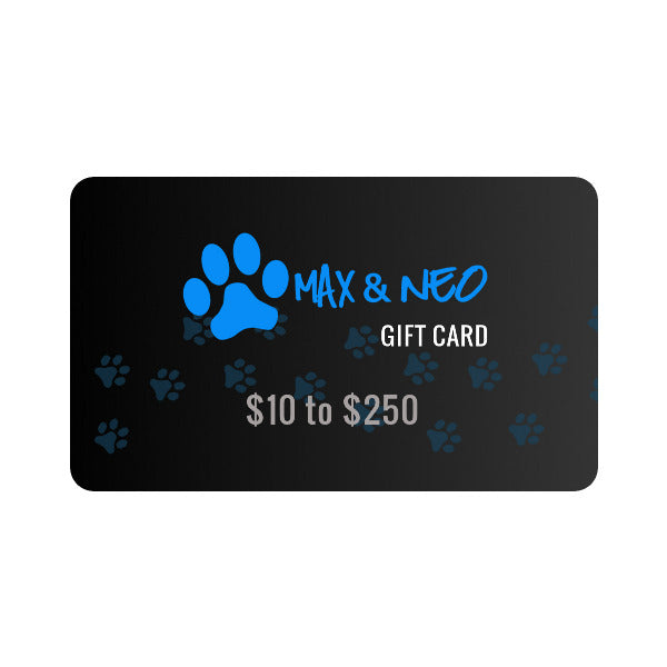 Max and Neo Gift Card