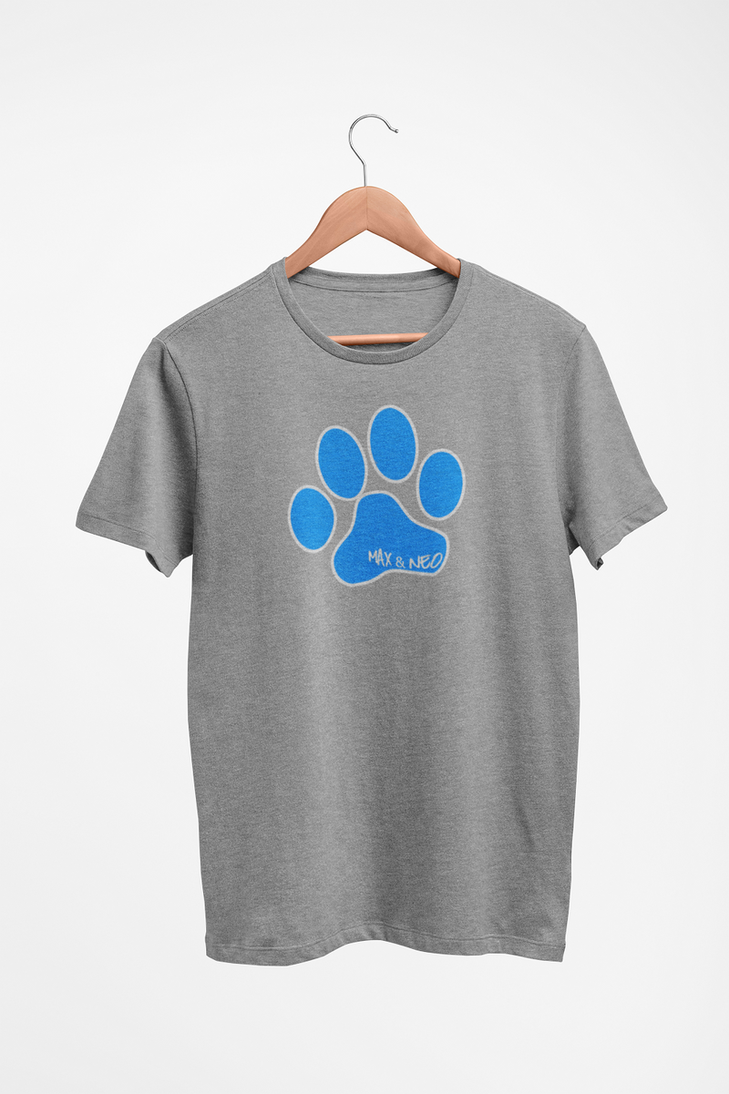 Men's/Unisex Max & Neo Paw Faded Triblend T-Shirt