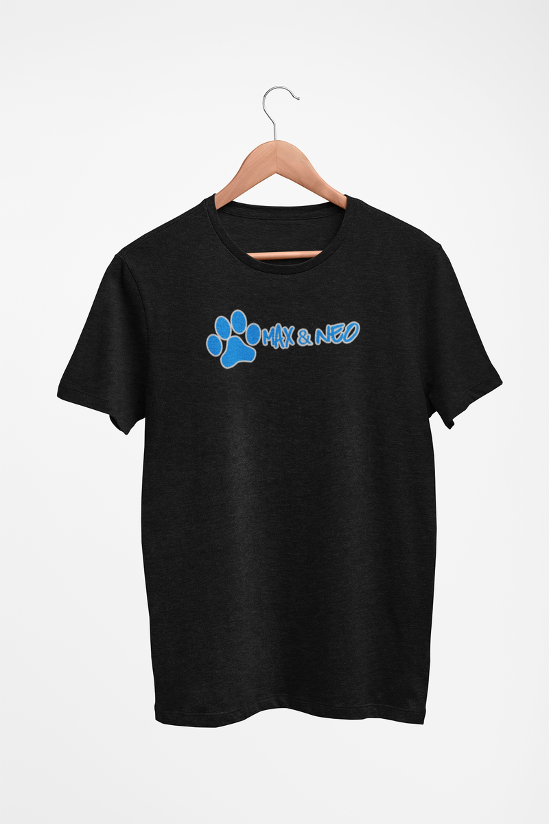 Men's/Unisex Max & Neo Logo Faded Triblend T-Shirt