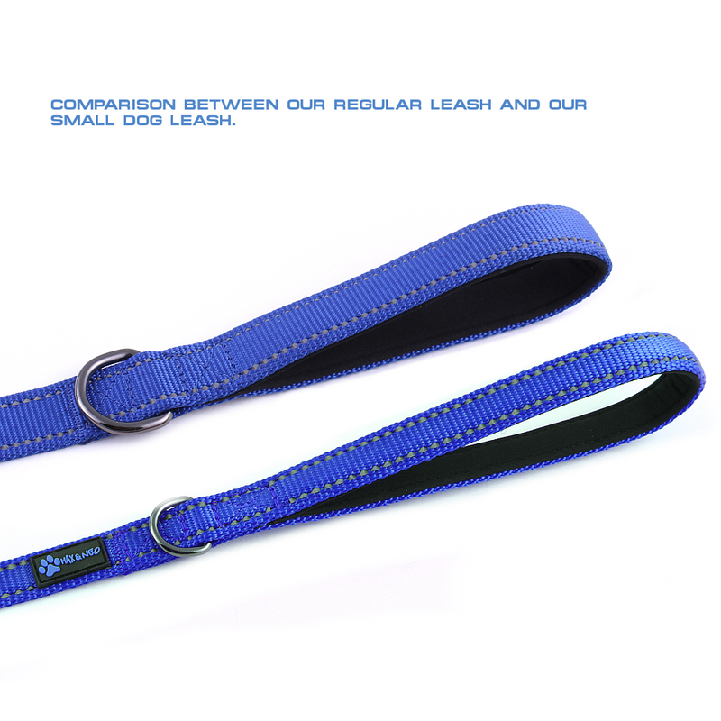 "ADOPT ME 6 FT X 5/8"" Wide Small Dog Leash"