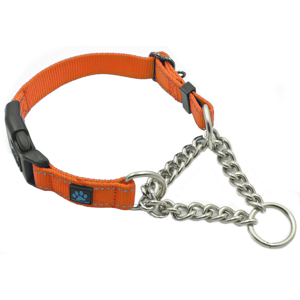 Martingale Chain Dog Collar