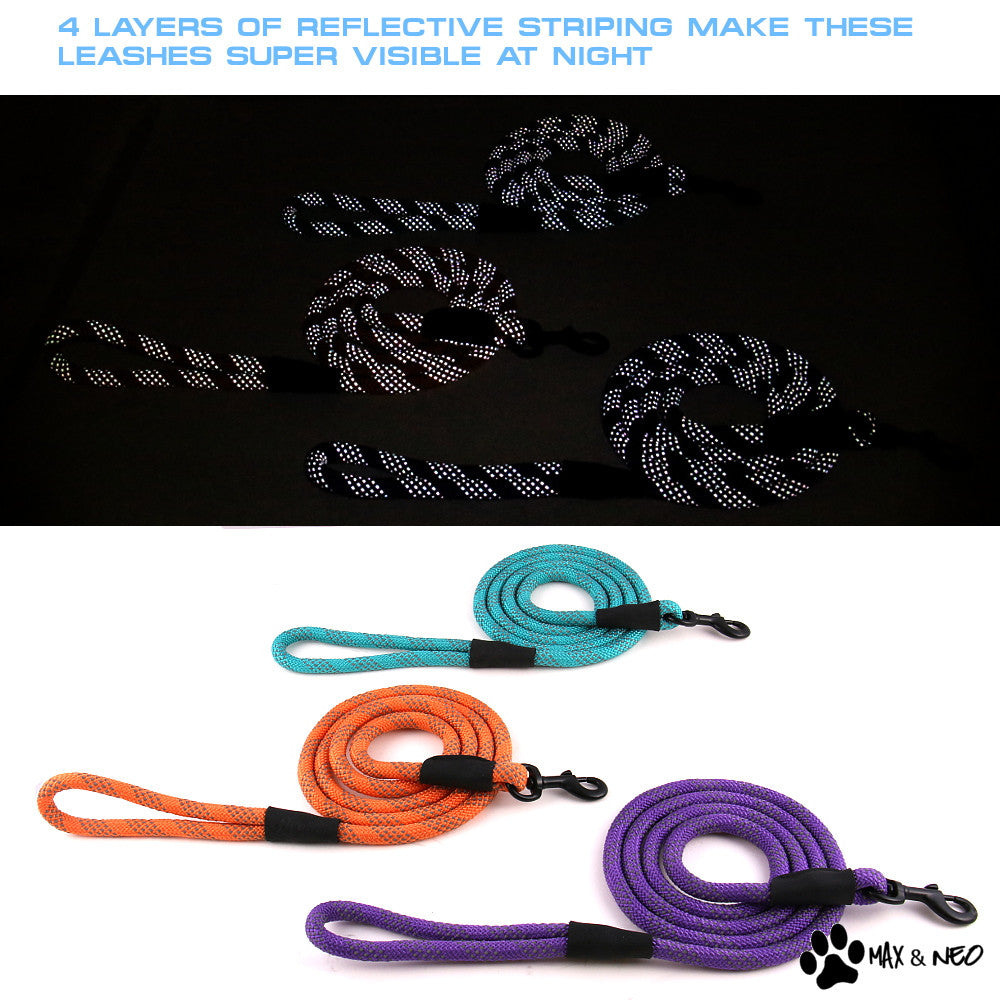 6 Foot Rope Reflective Leash