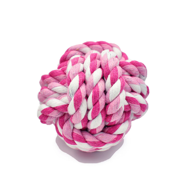 Heavy Chewer Rope Ball Toys - 3 Pack