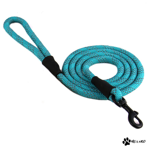 6 Foot Reflective Nylon Rope Leash