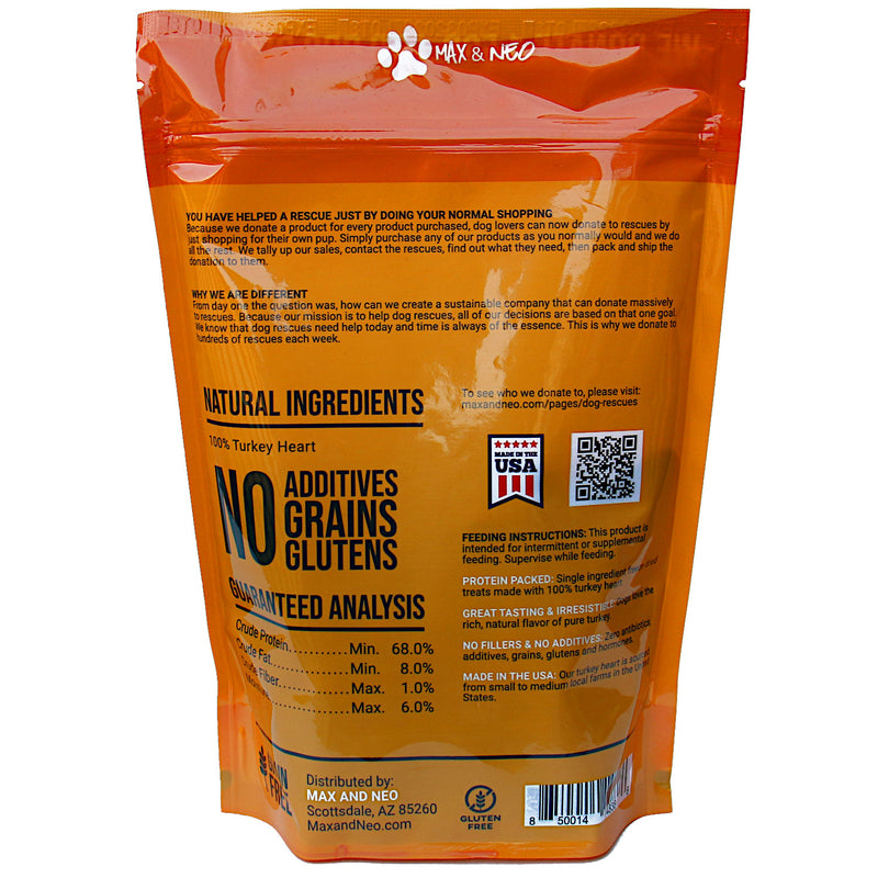 4 PACK Hearts and Liver Freeze Dried Dog Treats
