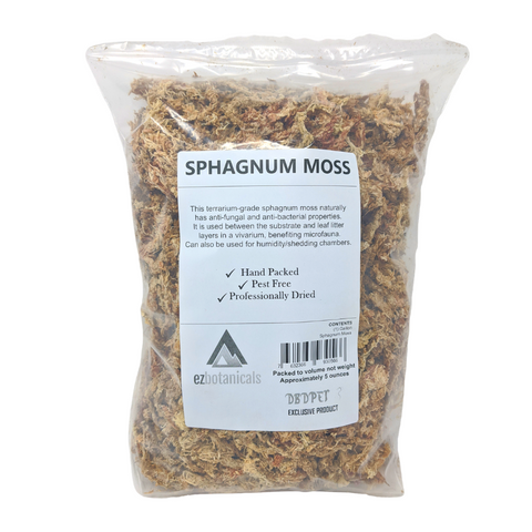 Long Fiber Sphagnum Moss (1 Gallon, Dried)