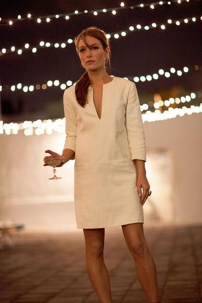 Mod Dress - White - Imperfect