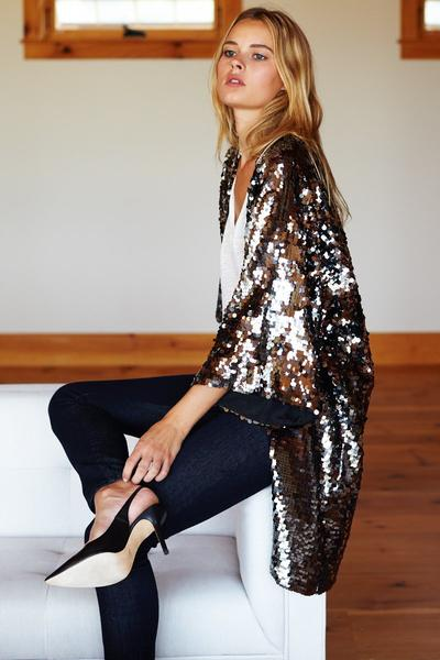 Sequin Jacket - Imperfect