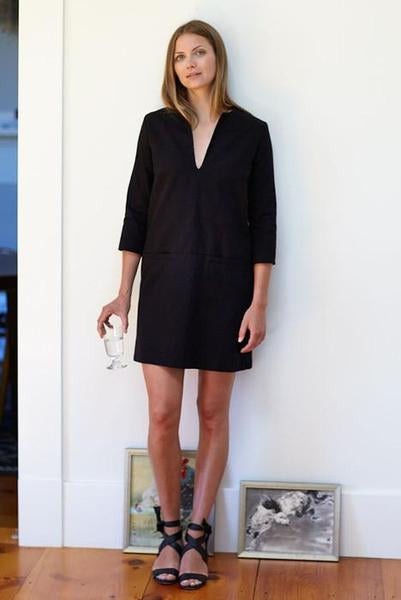 Mod Dress - Black - Imperfect