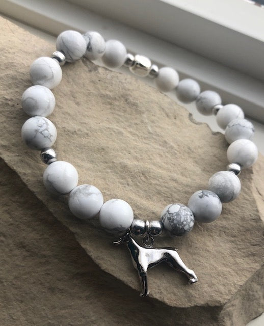 Vintage Sterling Silver Dog Charm-Bracelet set