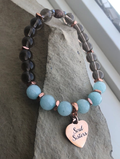 New Rose Gold Soul Sisters-Bracelets