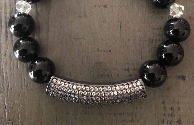 Black Onyx Beauty-Bracelet