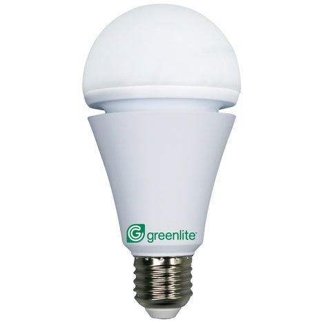 Greenlite 7 watt A Line LED Dimmable Emergency Light Bulb