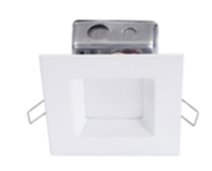"Nationwide Illumination 4"" 10w LED Square Remodel Recessed Can"