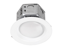"Nationwide Illumination 4"" 10w LED Round Remodel Recessed Can"